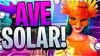 """VICTORIA WITH THE NEW SKIN"" """"Solar AVE"" - FORTNITE"