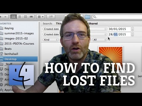 Mac OS X: Finding Lost Files on Your Mac