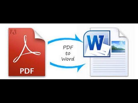 طريقة تحويل ملف PDF إلى WORD بدون برنامج