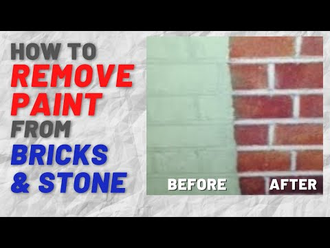 Paint Stripper How To Remove Old Paint From Brick And Brickwork