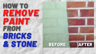 Paint Stripper - How To Remove Old Paint from Brick and Brickwork