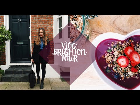VLOG: Visiting My Favourite Brighton Places! | Hello October