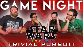 Star Wars: Trivial Pursuit GAME NIGHT!!