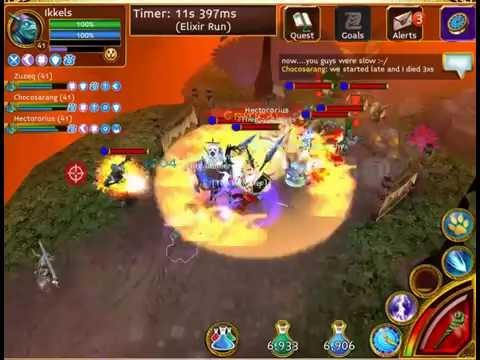 Arcane Legends - Farming ELITE Tindirin Maps