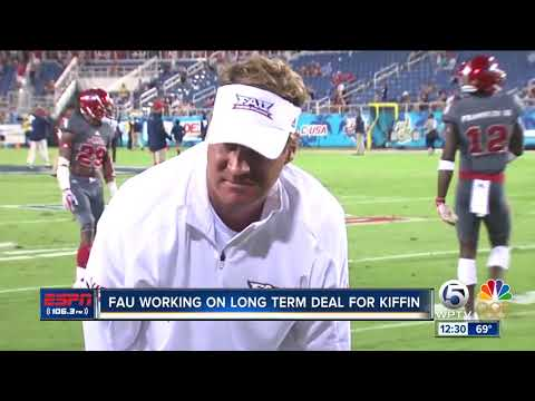 EXCLUSIVE: FAU President John Kelly says FAU is working on long term deal with Lane Kiffin