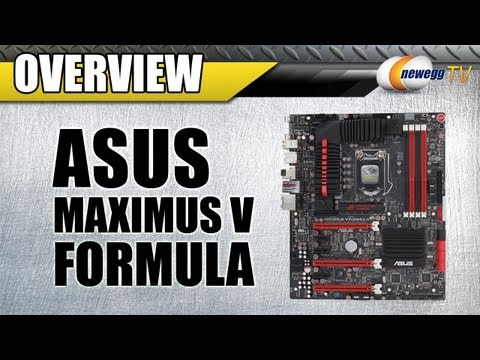 Newegg TV: ASUS Maximus V FORMULA/THUNDERFX LGA 1155 Intel Z77 Extended ATX Motherboard Overview