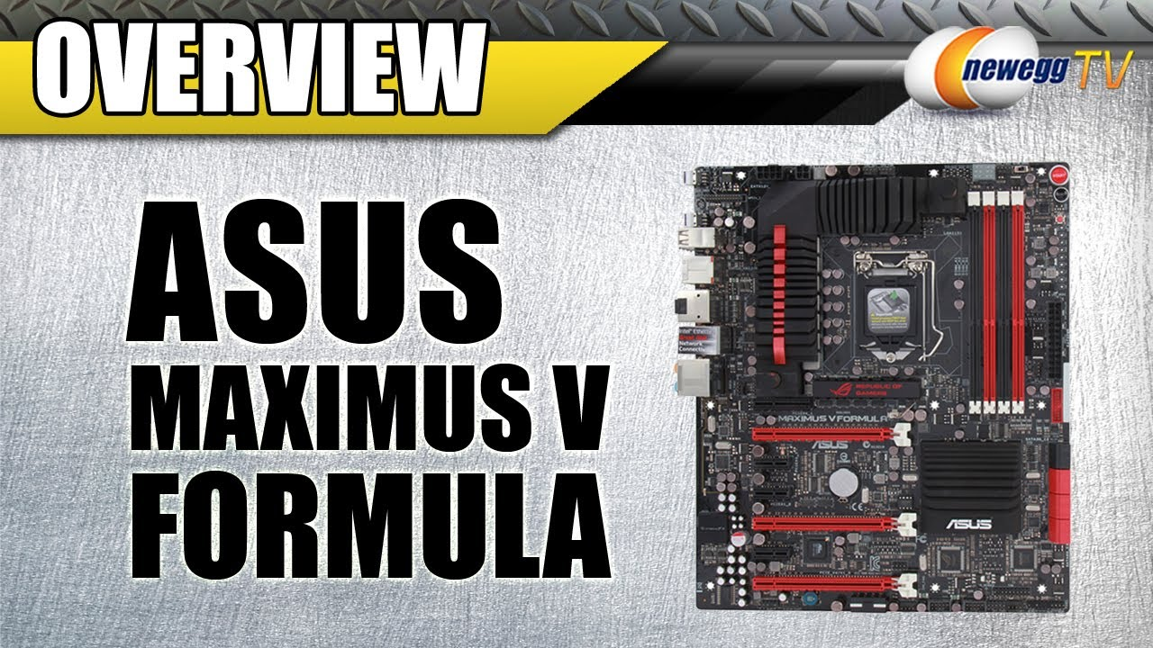 Asus Maximus V Formula/ThunderFX Intel Display Download Drivers
