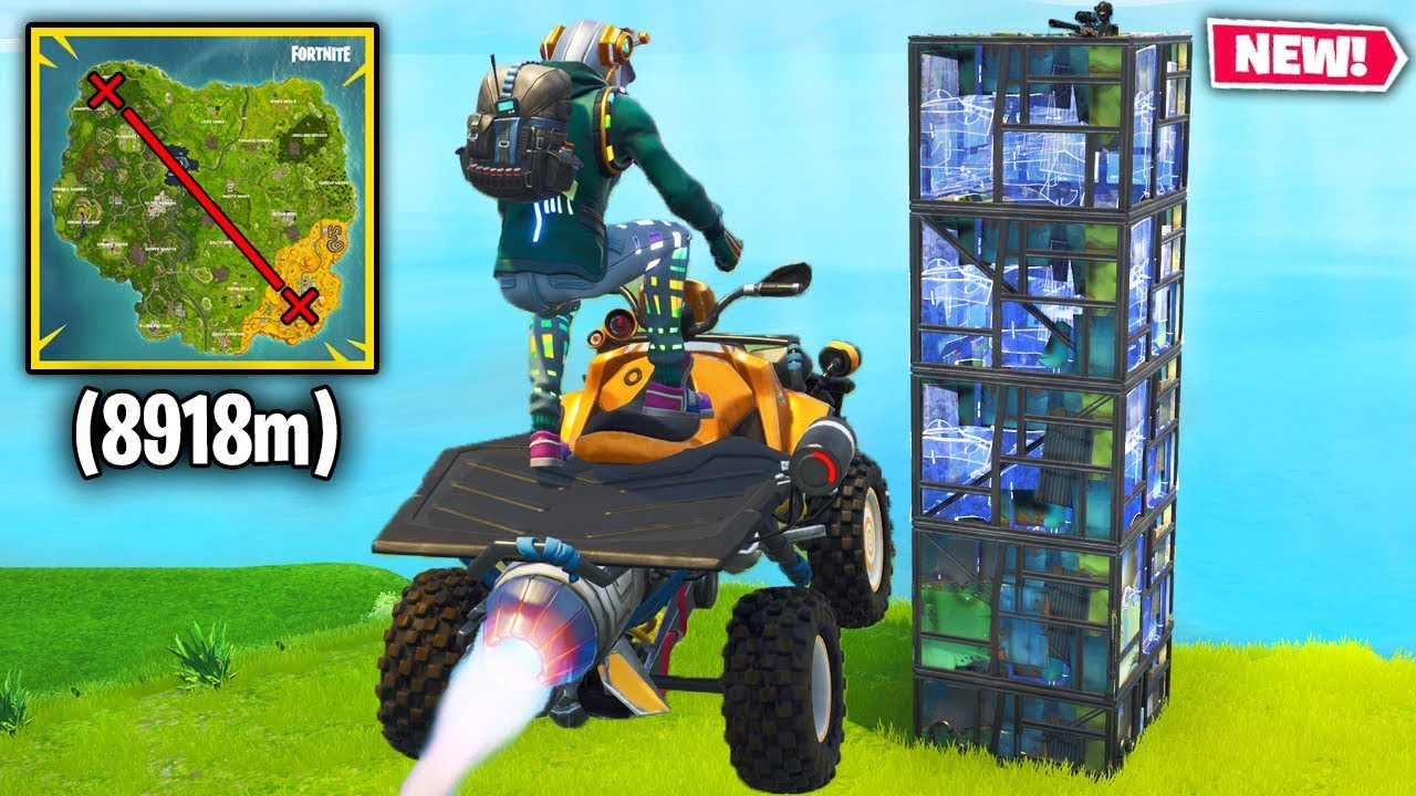 Top 10 Fortnite Quadcrasher Stunts & Plays YOU COULD NEVER PULL OFF!
