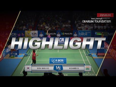 Kidambi Srikanth (IND) vs Son Wan Ho (KOR)