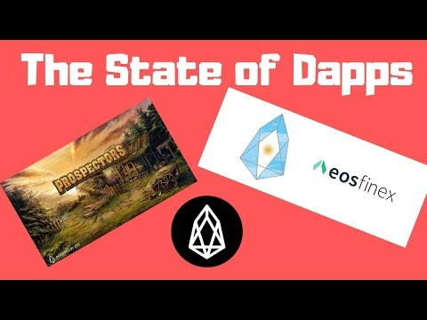 The State Of EOS Dapps Ft. EOSFinex, Prospectors, & More!