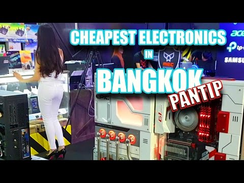 CHEAPEST ELECTRONICS IN BANGKOK | Pantip Plaza
