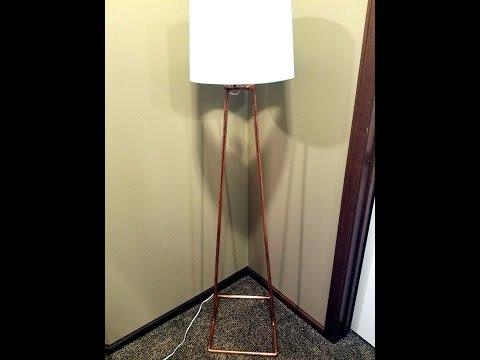 DIY - Modern Copper Floor Lamp