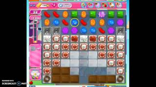 Candy Crush Level 1221 help w/audio tips, hints, tricks