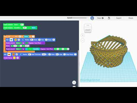 Designing With Algorithms in Tinkercad: 8 Steps (with Pictures)