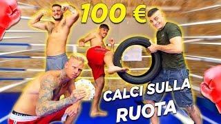 REGALO 100 EURO a chi resiste a più TIBIATE sulla ruota!