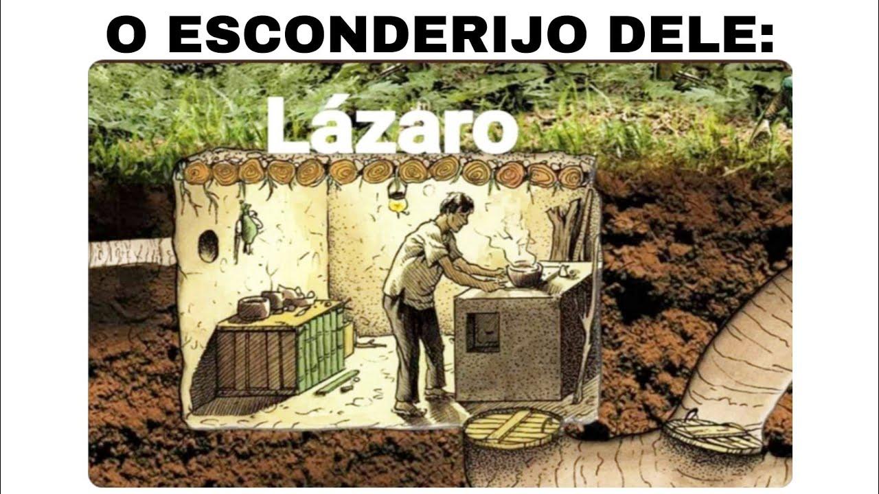 MELHORES MEMES EM IMAGENS #267 || O ESCONDERIJO DO LÁZARO 😳