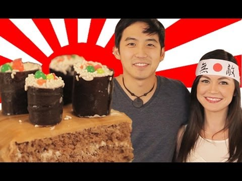 Sushi Cake for Jimmy Wong  How to Bake It in Hollywood with Ashley Adams