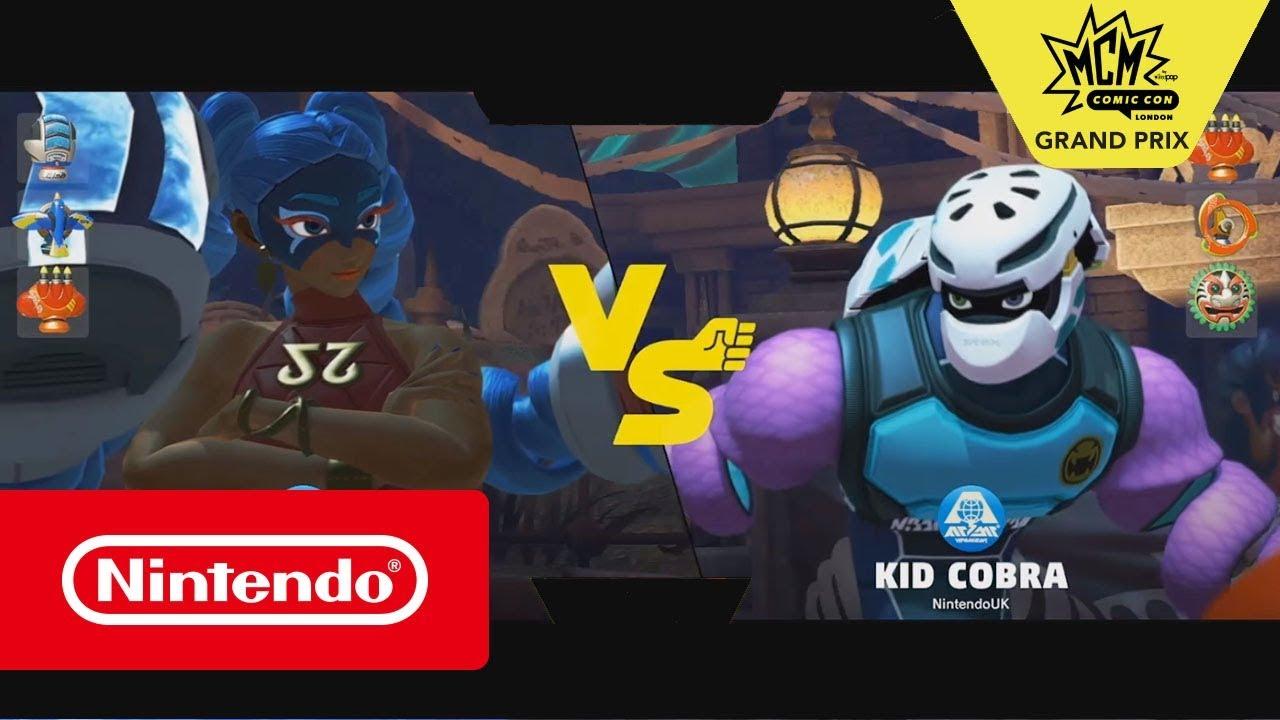 ARMS - MCM Grand Prix Grand Final: JR vs Esthri (Nintendo Switch)