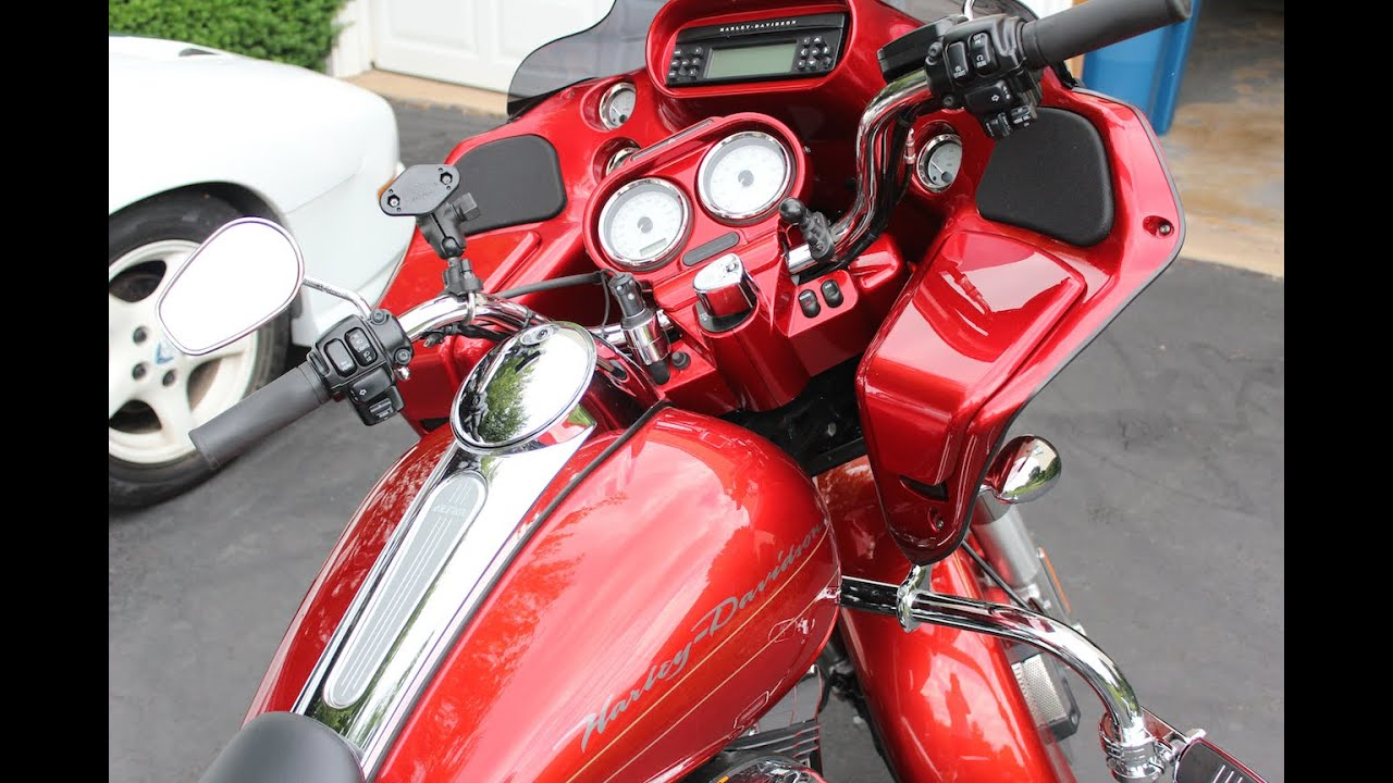 2013 h d road glide inner fairing instrument cluster removal for paint [ 1280 x 720 Pixel ]