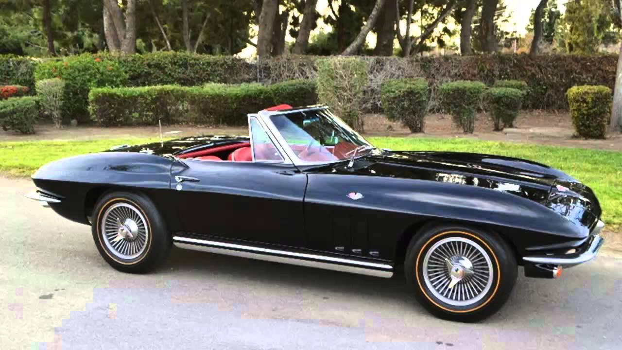 Chevrolet Corvette Stingray >> Chevrolet Corvette C2 Sting Ray Cabrio 1962 - YouTube
