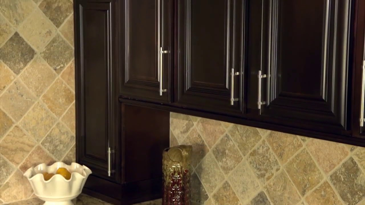 Chocolate Kitchen Cabinets Americana Decor Rittenhouse Youtube