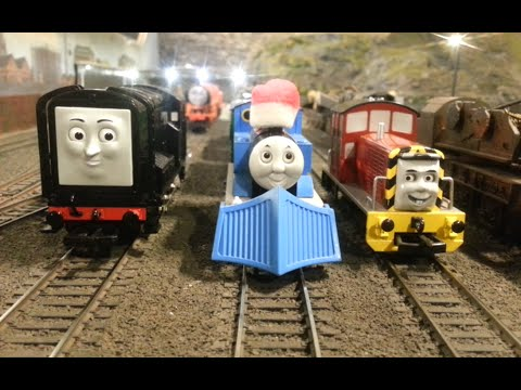 Thomas & Friends on the Butterley Model Railway!
