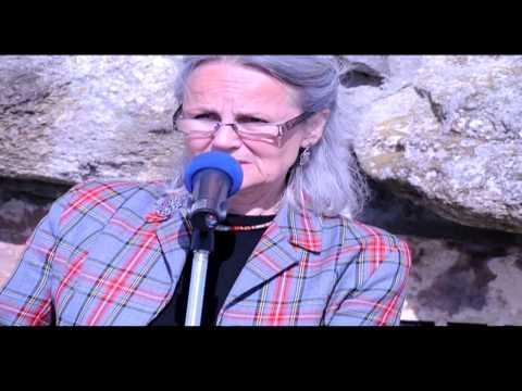 Margaret Bennett remembering Culloden, April 2014