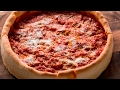 Chicago-style Pizza Deep Dish Pizza
