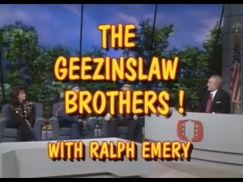 The Geezinslaw Brothers! (With Host Ralph Emery)