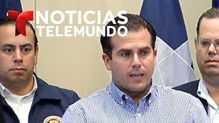 Indignación en Puerto Rico por amenaza de Trump de cortar ayuda | Noticiero | Telemundo