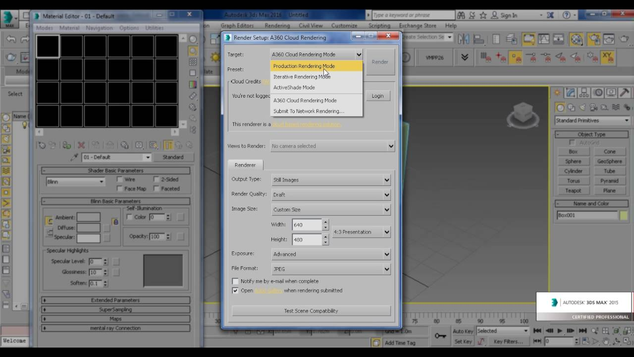 write arabic in 3ds max materials