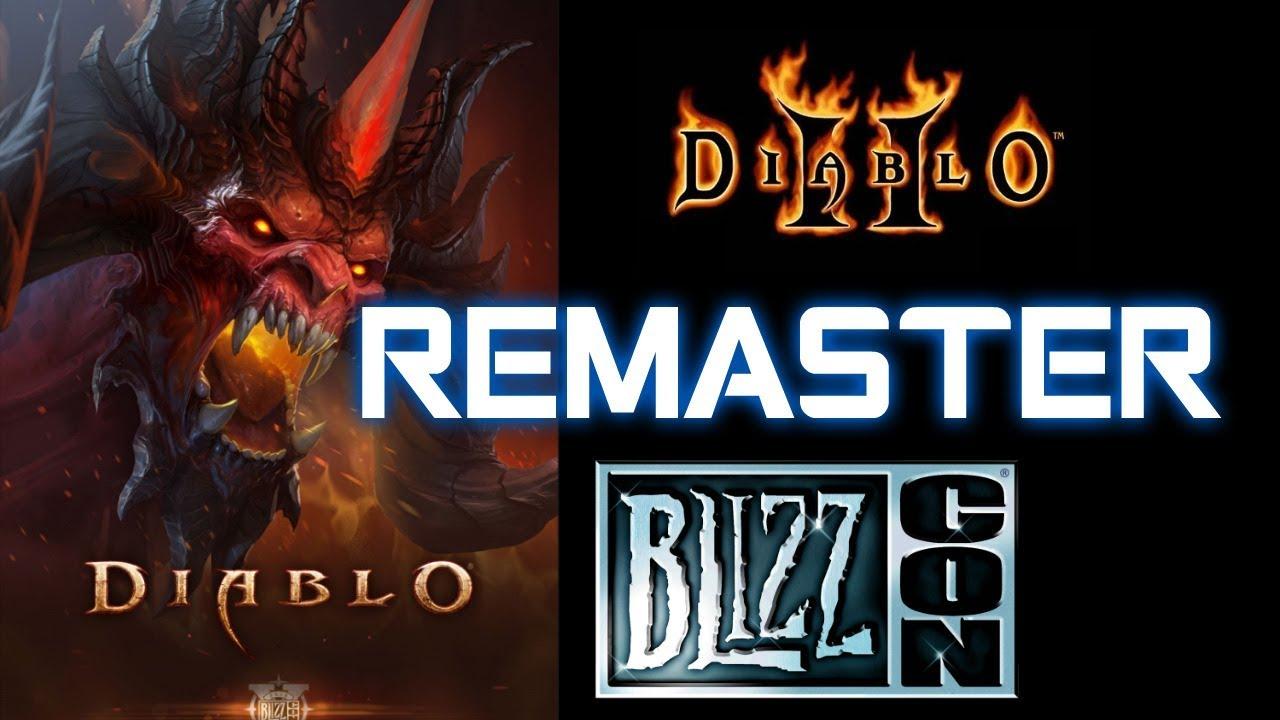 Blizzard Hints of D2 Remaster - Diablo 2