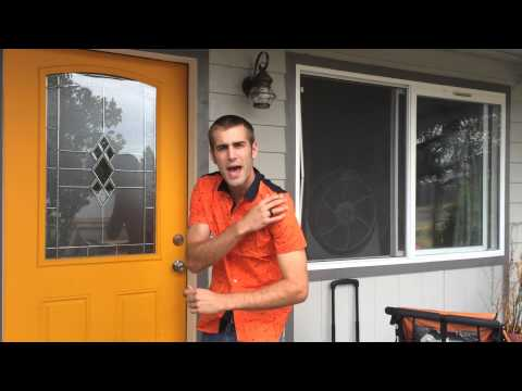 ★★★★★  SSLR Men's Printing Pattern Casual Short Sleeve Shirt - Orange - Amazon