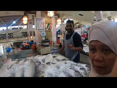 Kuwait Fish Market At Seaside Sharq || Is The Pomfret The Most Expensive Fish❓🤔