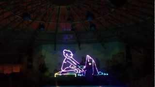 Laser show Dolphinarium
