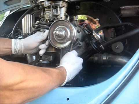 How to adjust your timing on a VW bug