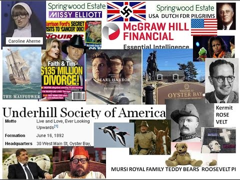 Genocidal Roosevelt Pilgrims Teddy out of the woods murder into Pearl Harbor & Oyster Bay Underhill