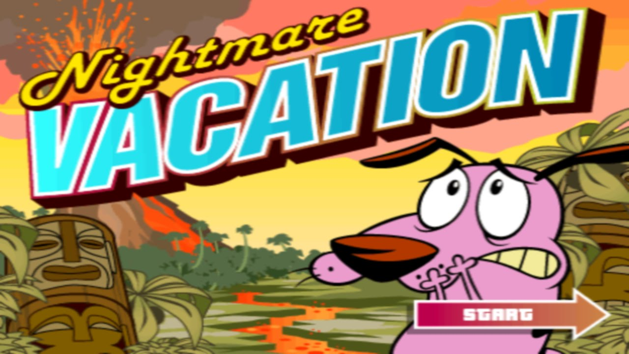 Old Cartoon Network Games Courage The Cowardly Dog