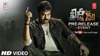 Khaidi No 150 Pre-Release Function LIVE || Mega Star Chiranjeevi || Kajal Aggarwal || V V Vinayak