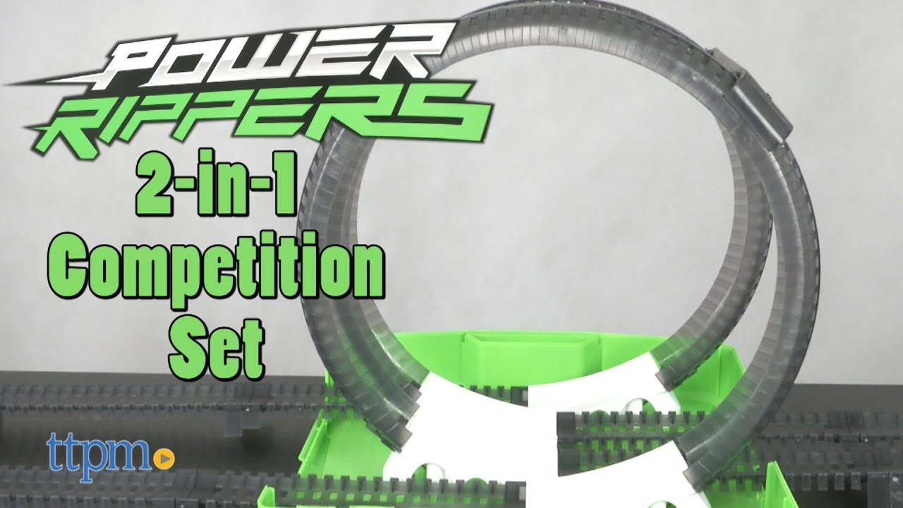 Power Rippers 2-in-1 Competition Set from Jakks Pacific