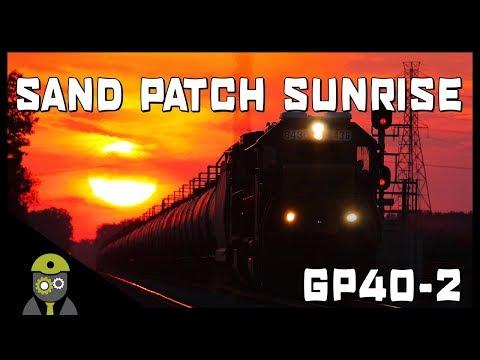 Train Sim World: CSX Heavy Haul (PC) - Sand Patch Sunrise - GP40-2 DLC
