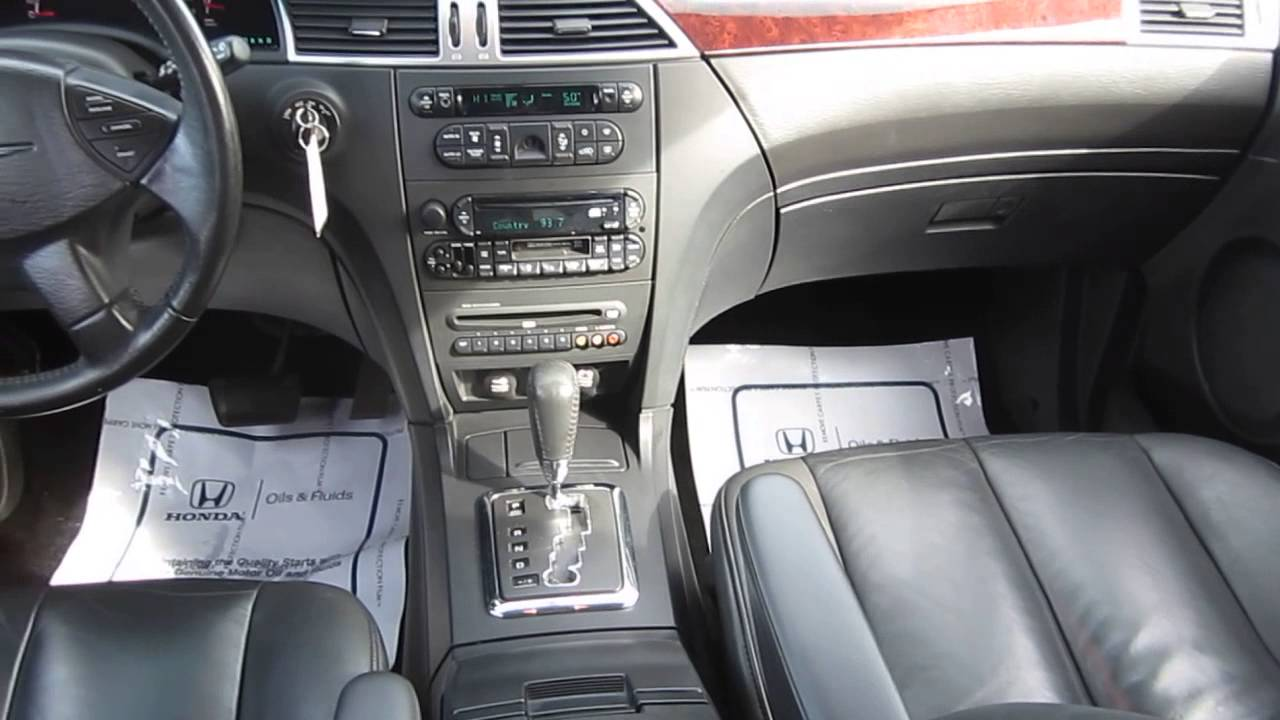 2005 chrysler pacifica bright silver metallic stock 7008a interior youtube. Black Bedroom Furniture Sets. Home Design Ideas