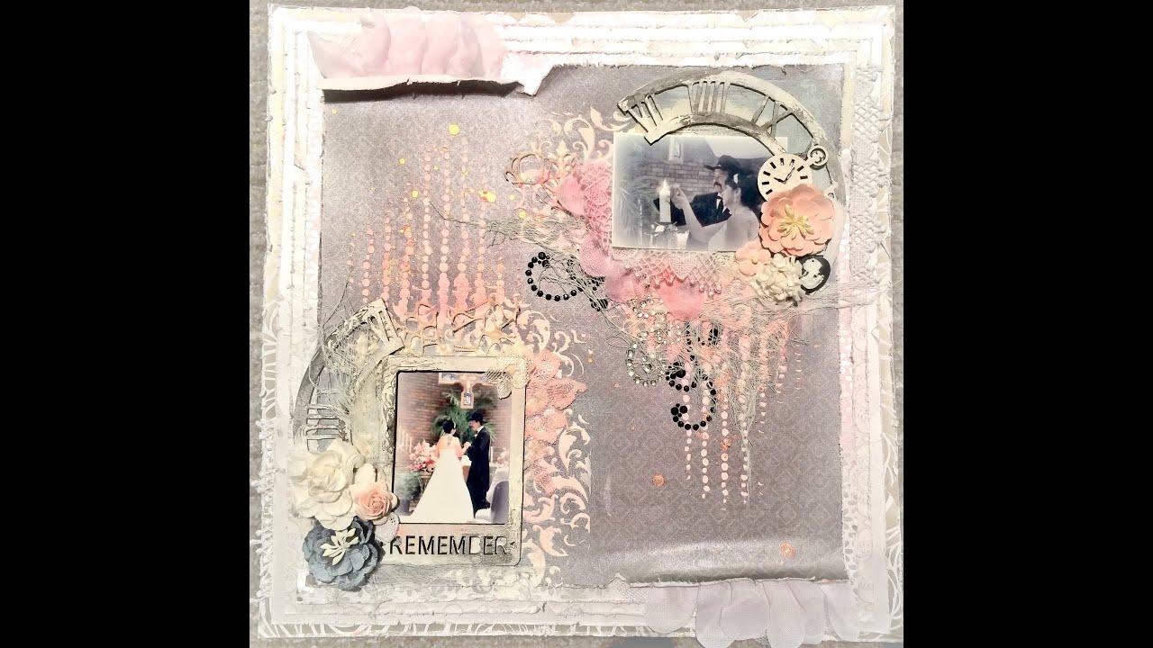 how to make a wedding scrapbook
