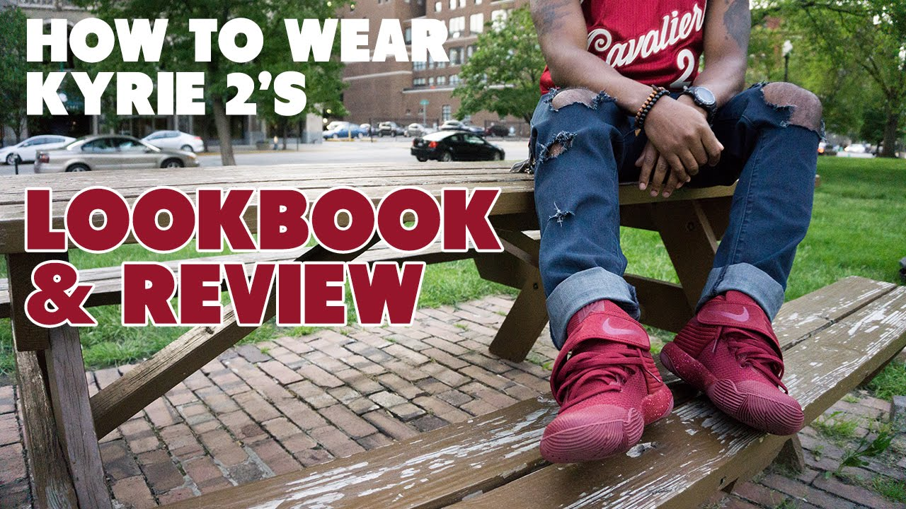 66841e2f6b9 How To Wear KYRIE 2 Red Velvet Cake - Review + Lookbook - YouTube