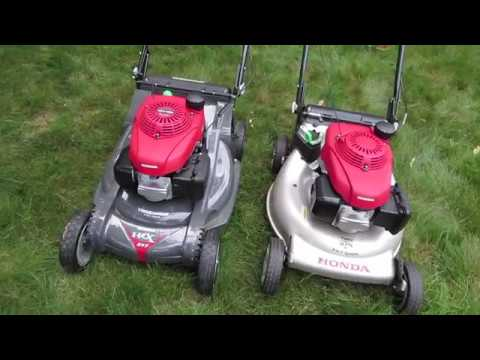 Honda HRR vs HRX Mower Comparison - long term review