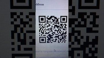 Bitcoin QR Code Scan Test