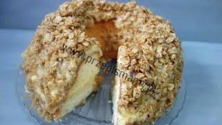 Bardzo oryginalne ciasto! Przepis na ciasto Wianuszek Gdański! Jak zrobić ciasto Wianuszek