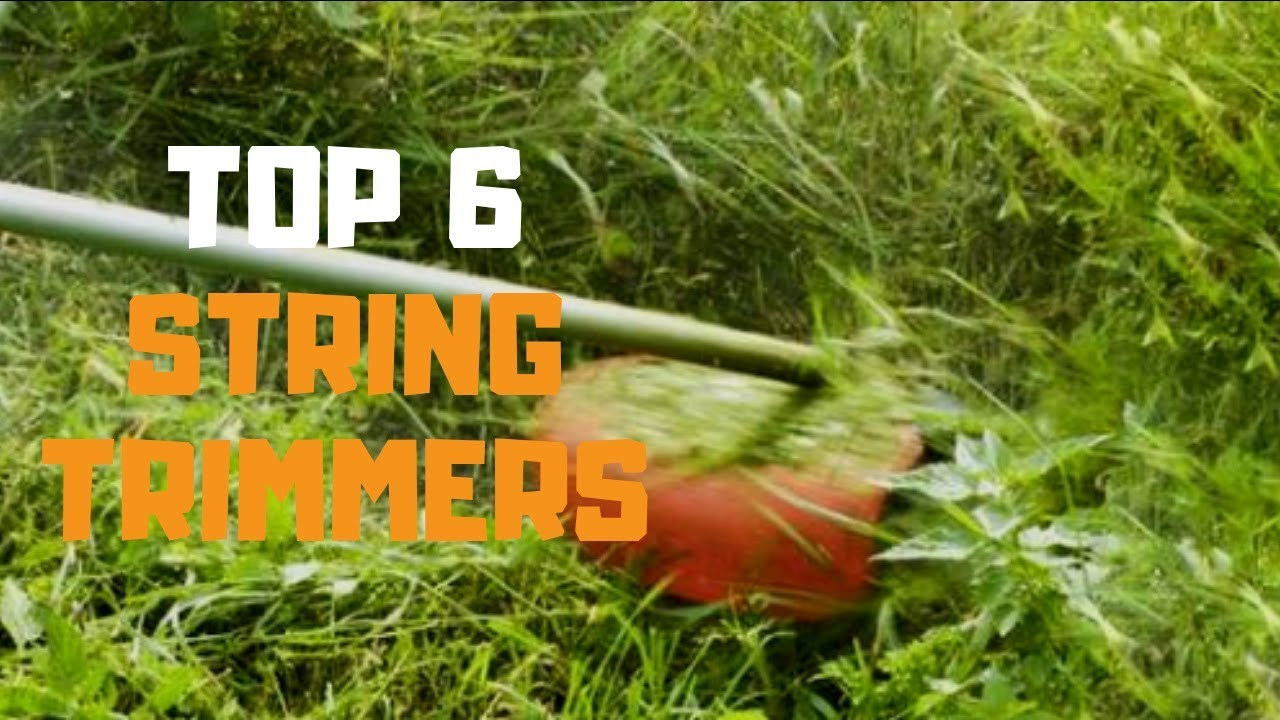 Best String Trimmer 2020 Best String Trimmer in 2019   Top 6 String Trimmers Review   YouTube