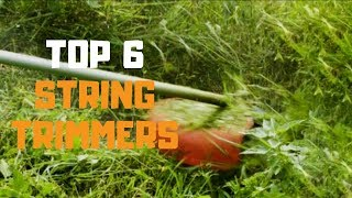 Best String Trimmer in 2019 - Top 6 String Trimmers Review