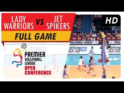 Lady Warriors vs. Jet Spikers | WV Full Game | 4th Set | PVL Open Conference | August 9, 2017